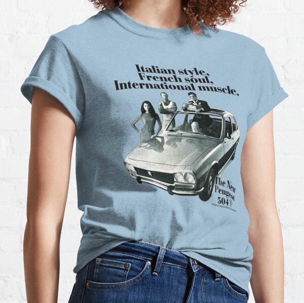PEUGEOT 504 T-shirt classique