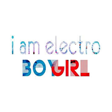 Mighty Boosh Electro Boy Girl by eyevoodoo