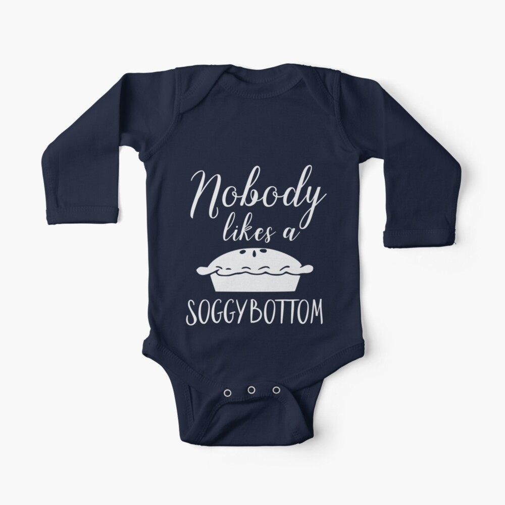 Nobody Likes a Soggy Bottom Baby One-Piece