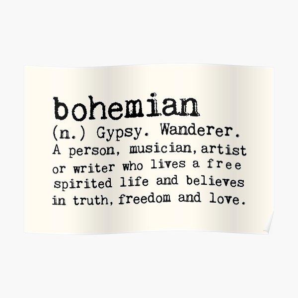 Bohemian Poster