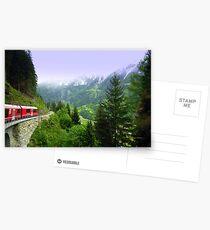 Bernina Express Postcards