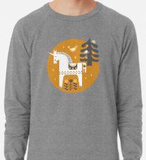 Gelb + Graues Märchen Leichtes Sweatshirt