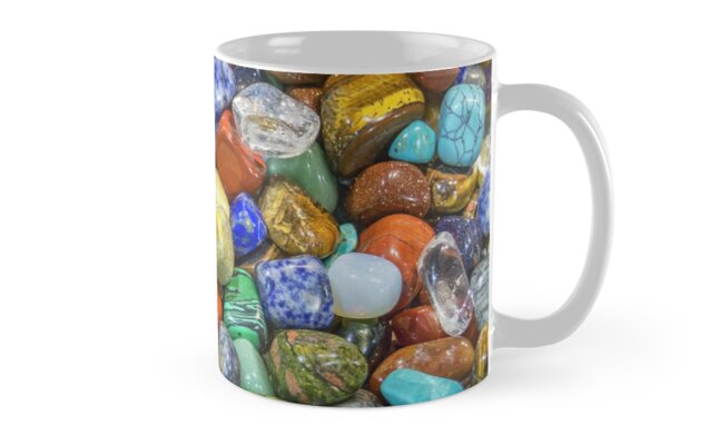 pebbles, minerals, mineral stone Classic Mugs