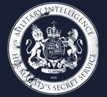 On her Majesty's secret service logo