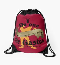 No one (BLANK) like Gaston Drawstring Bag