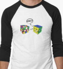 rubik's magic cube Men's Baseball ¾ T-Shirt