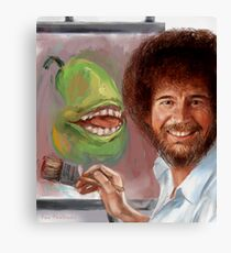 Bob Ross Pear Canvas Print