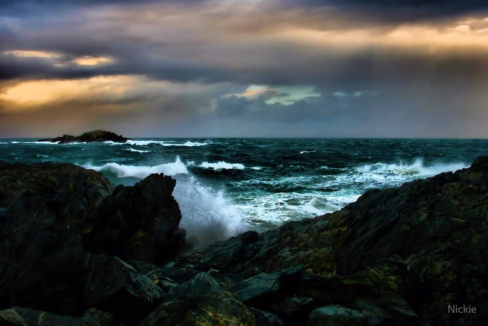 Touch Of Colour A Stormy Day by Nickie