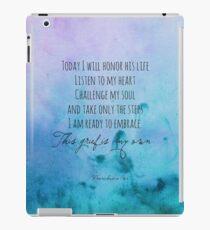 Ich werde sein Leben ehren iPad-Hülle & Klebefolie
