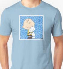 Charlie Brown & Snoopy Hug Unisex T-Shirt