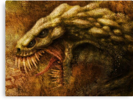 Cave Drawing of the Monsters we have Forgotten by Javier Antunez