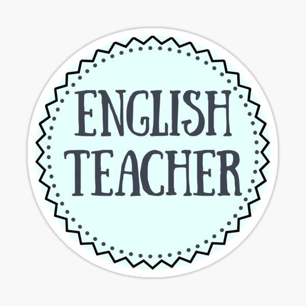 English Teacher Sticker