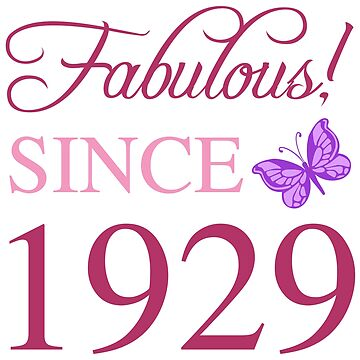1929 Fabulous Birthday by thepixelgarden