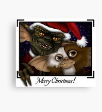 Have a Gremlin Kinda Christmas Canvas Print