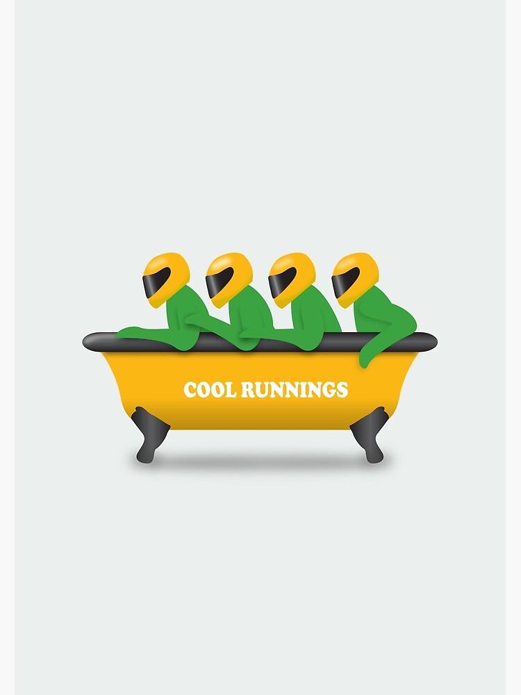 Cool Runnings - Alternative Movie Poster by MoviePosterBoy