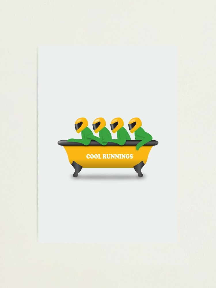 Alternate view of Cool Runnings - Alternative Movie Poster Photographic Print