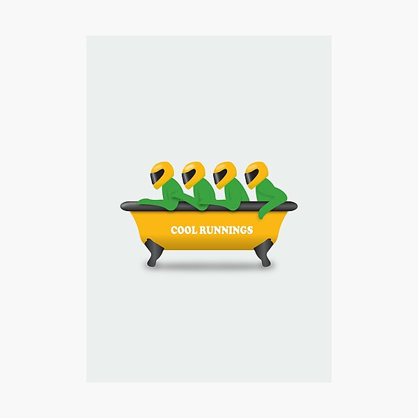 Cool Runnings - Alternative Movie Poster Photographic Print