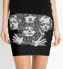 Bohemian Rhapsody Mini Skirt