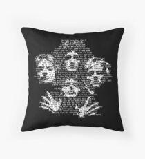Bohemian Rhapsody Throw Pillow