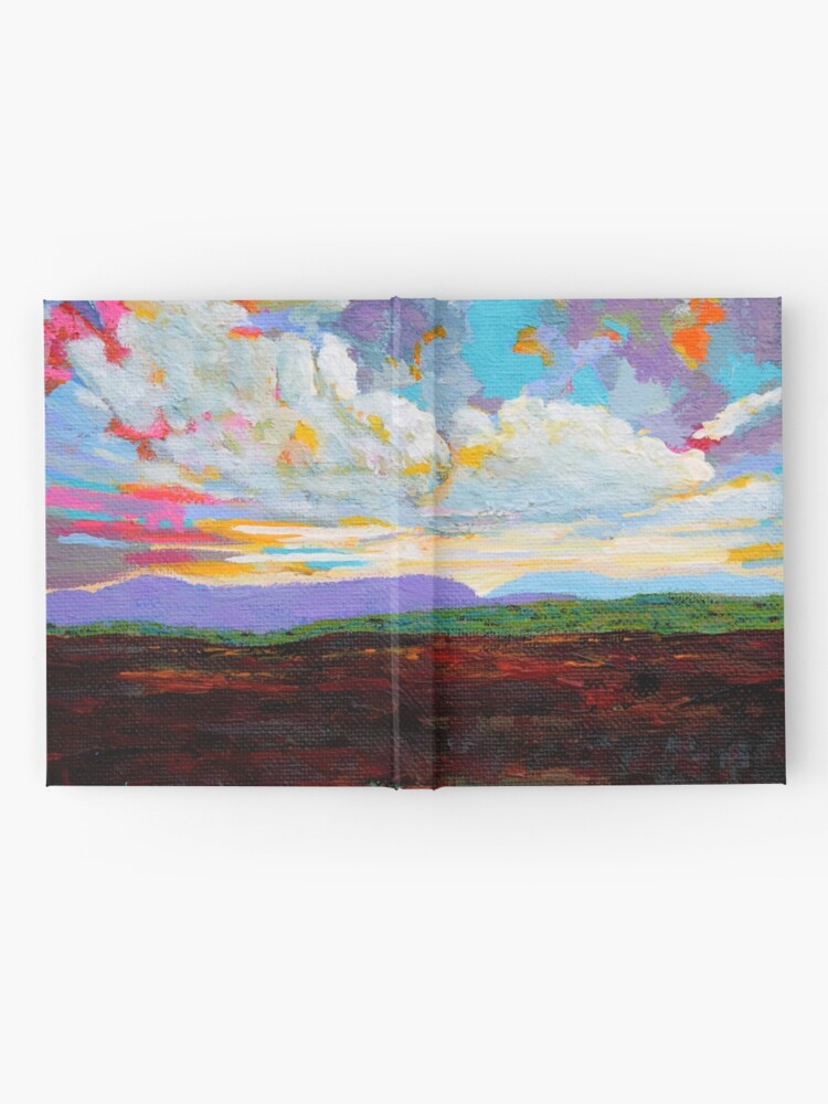 Alternate view of Donegal Cloud, Ireland Hardcover Journal