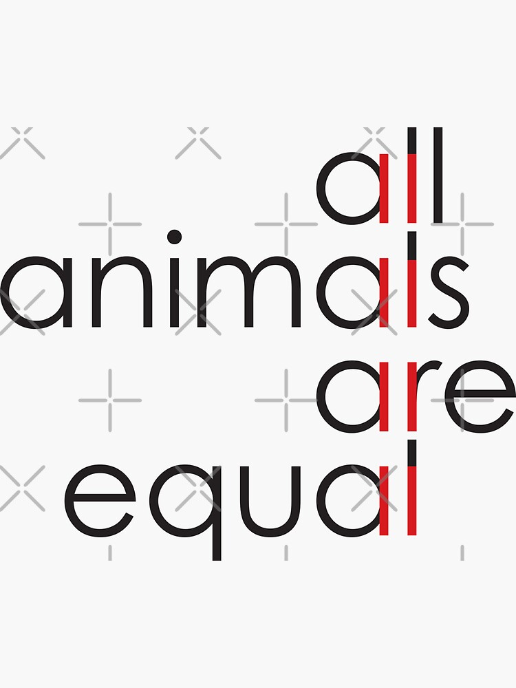 all animals are equal by kislev