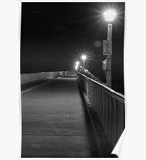 Boardwalk by Night Poster
