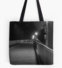 Boardwalk by Night Tote Bag
