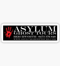 Asylum Ghost Tours - Sticker Sticker