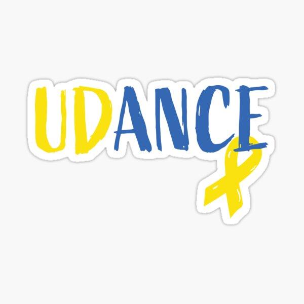 UDance Logo Sticker Sticker