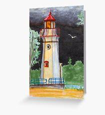 Cheboygan Light House Greeting Card