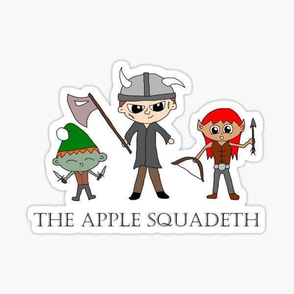 Apple Squadeth Chibi Sticker
