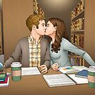 Fitzsimmons - Academy Library Surprise by eclecticmuse