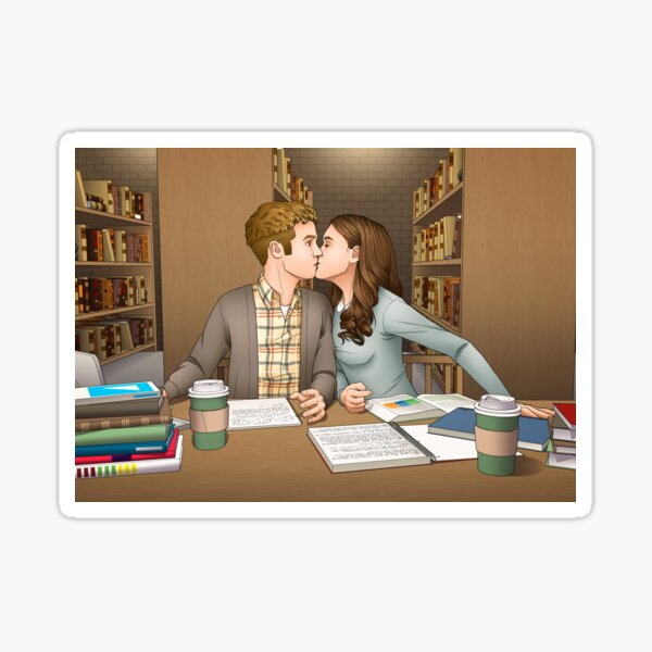 Fitzsimmons - Academy Library Surprise Sticker