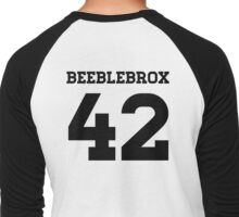 Beeblebrox Sports Jersey Men's Baseball ¾ T-Shirt