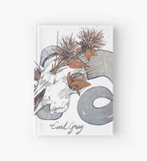 MorbidiTea - Earl Grey with Ram Skull Hardcover Journal