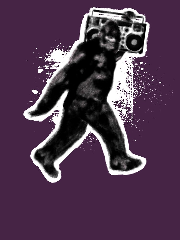 Bigfoot Sasquatch Yeti Boombox Dance by DOODL