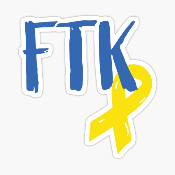 UDance FTK Logo Sticker
