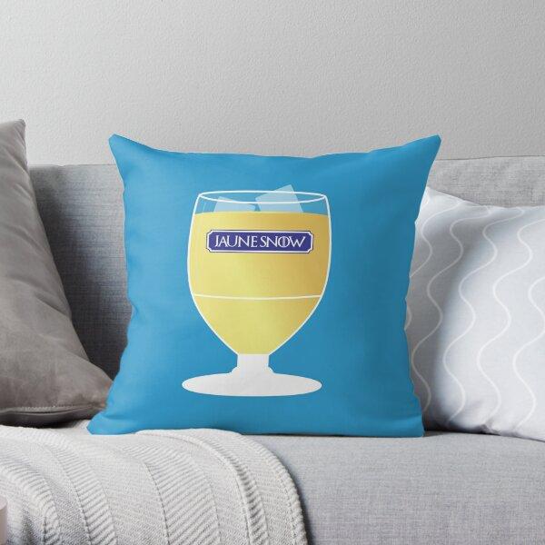 Yellow Snow - Jon Snow - Ricard - V2 Throw Pillow