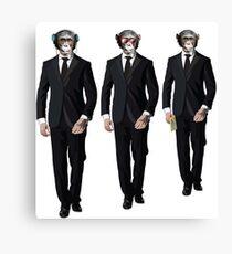 Three Wise Monkeys    Canvas Print