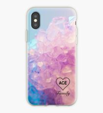 Ace Family Crystal Heart iPhone Case