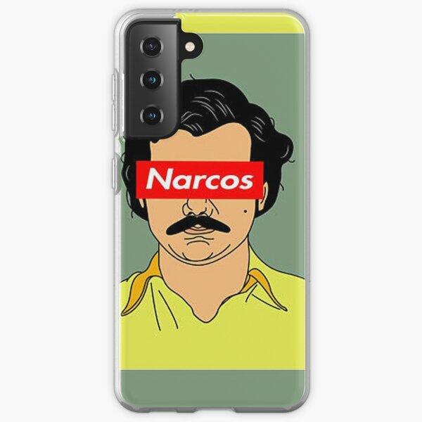 Narcos Art Coque souple Samsung Galaxy