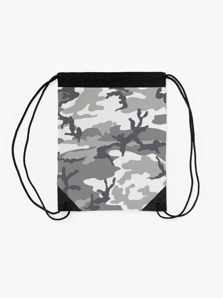 Alternate view of Metro Camo Drawstring Bag