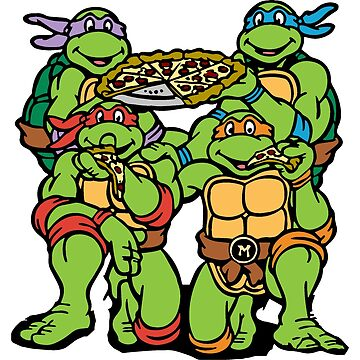 Teenage Mutant Ninja Turtles: Pizza Party! by Pop-Pop-P-Pow
