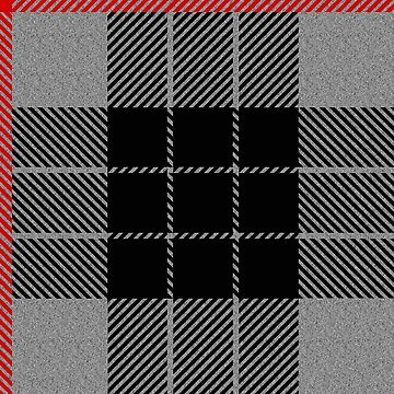 Black and grey plaid by rlnielsen4