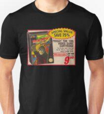 Friday the 13th Video Game Cartridge Vintage Nintendo Advert Slim Fit T-Shirt