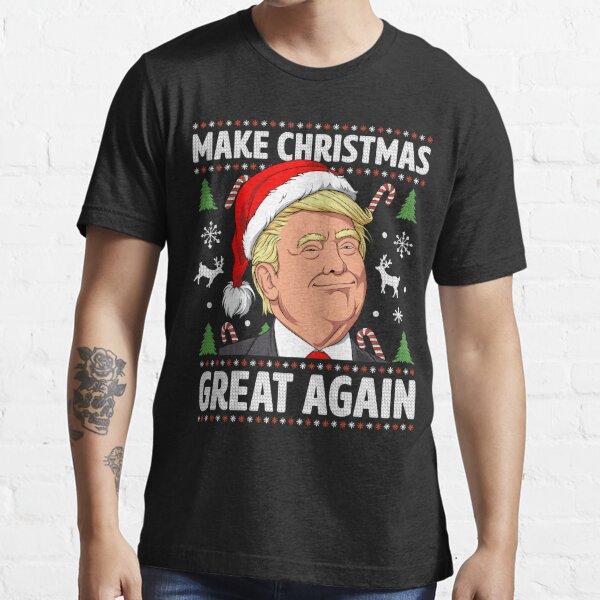 Make Christmas Great Again Trump Ugly Christmas Shirt Boys Essential T-Shirt
