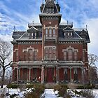 Vaile Mansion, Independence, Missouri, at Christmas by Catherine Sherman