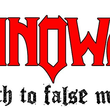 Manowar: Death To False Metal by Pop-Pop-P-Pow