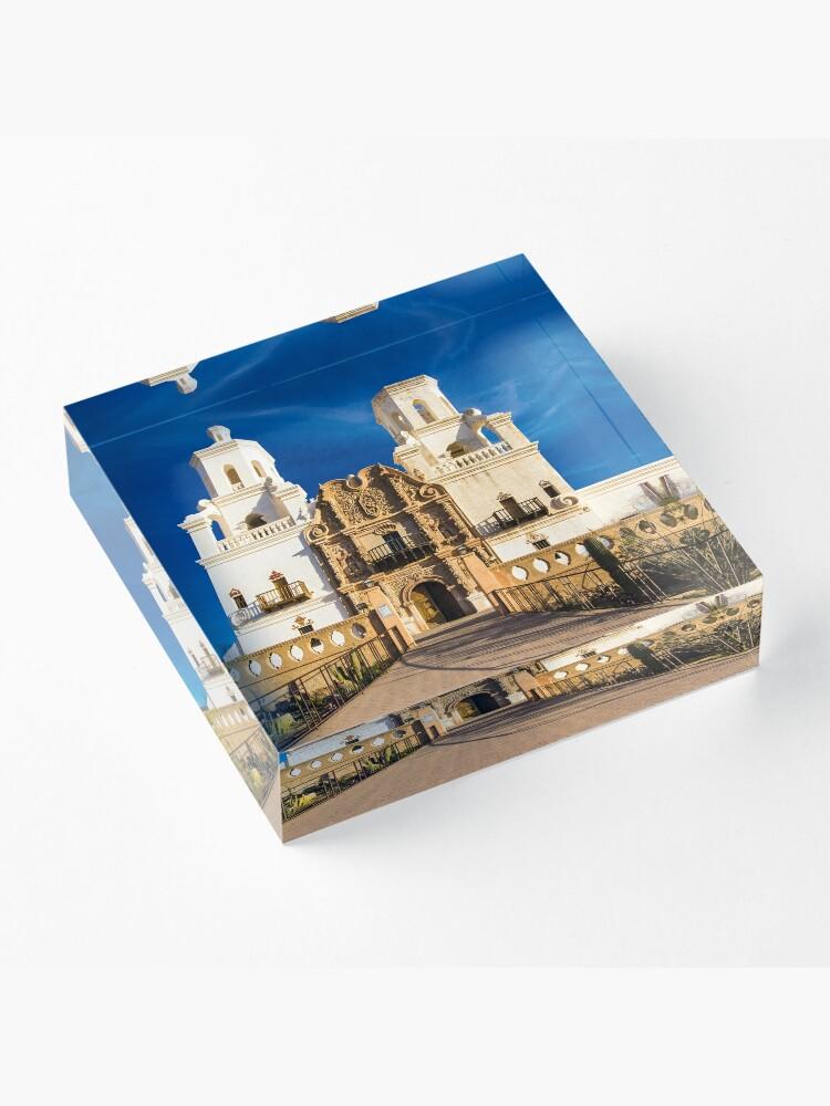 Alternate view of Mission San Xavier Acrylic Block