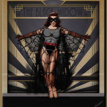 The Black Widow by rgerhard